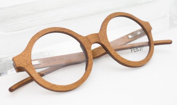 lunettes en bois, Feb 31st