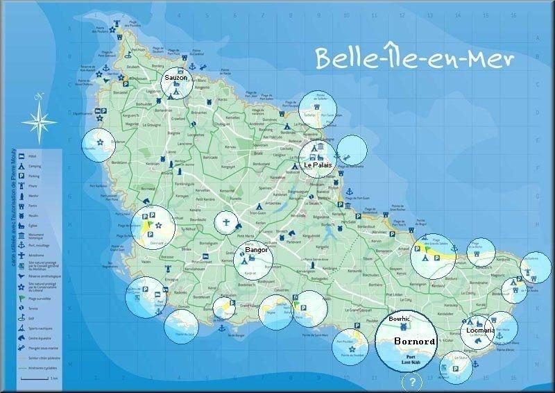 Location Belle ile en mer : locations de vacances. Maison